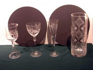 Razstava brušenega stekla - Karli Holešek