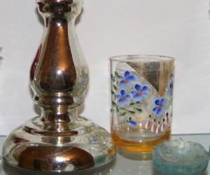 Razstava starega stekla iz zasebne zbirke Jožeta Tomažiča
